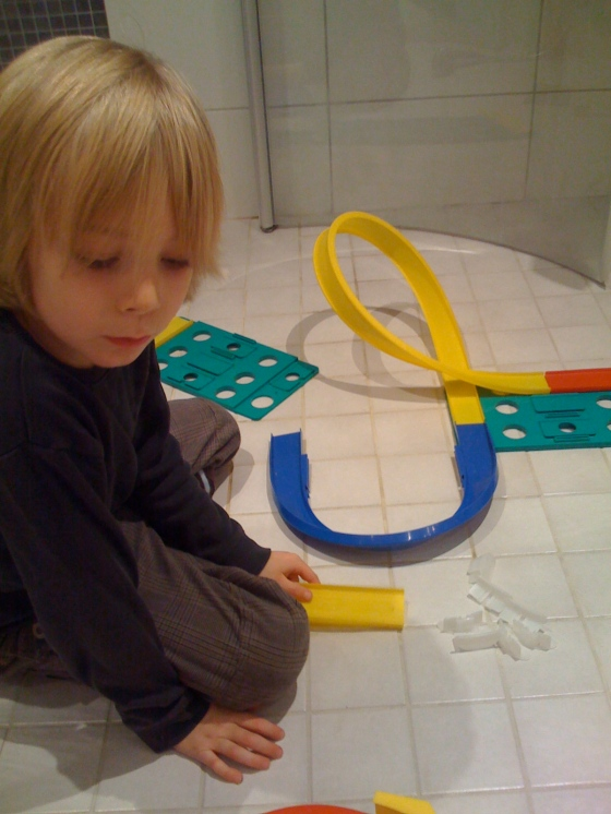 car track construction!