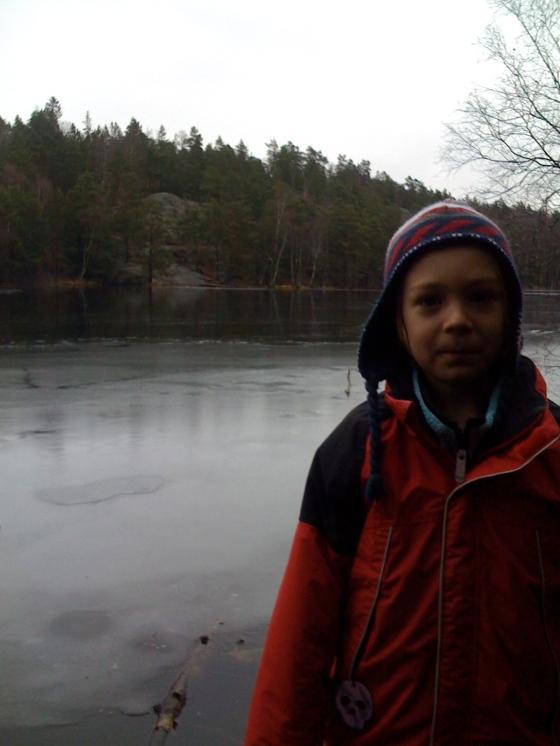 Leon at the lake!