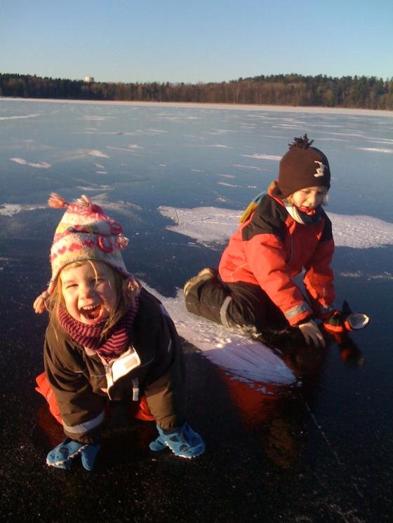 Fun on the ice!