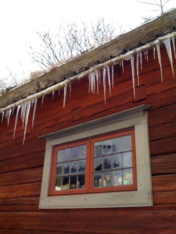 Icicles at Skansen!