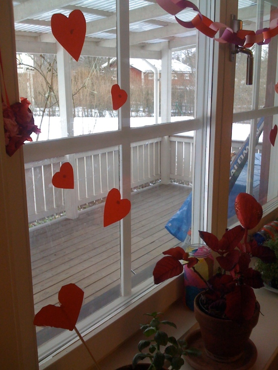 Valentines window!