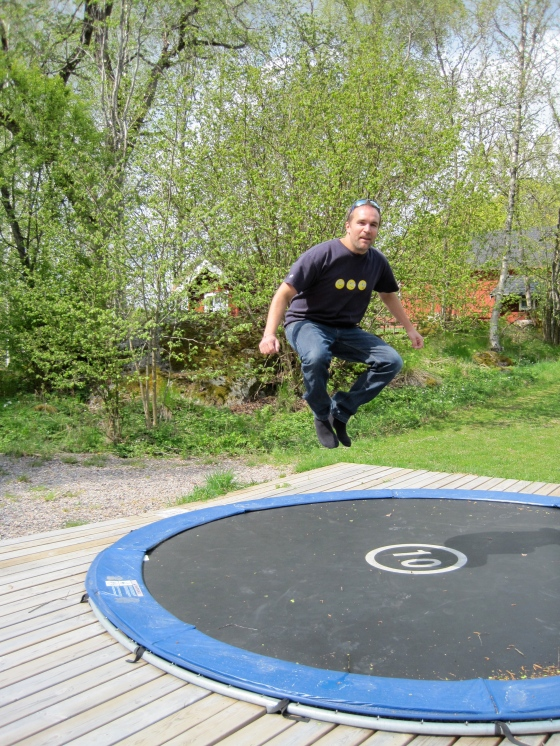 Look how high Richard can jump!!!!