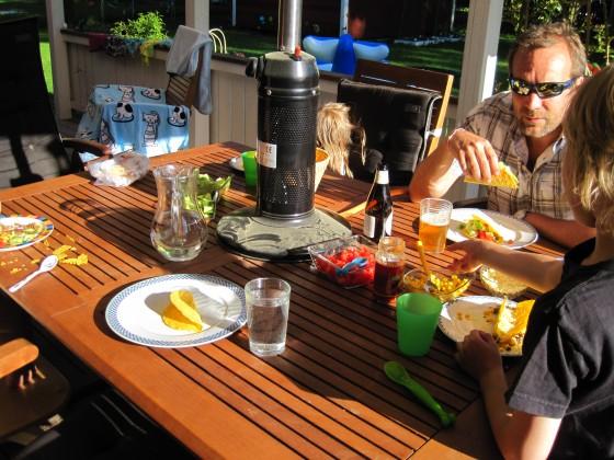 6 pm - Dinner on the veranda