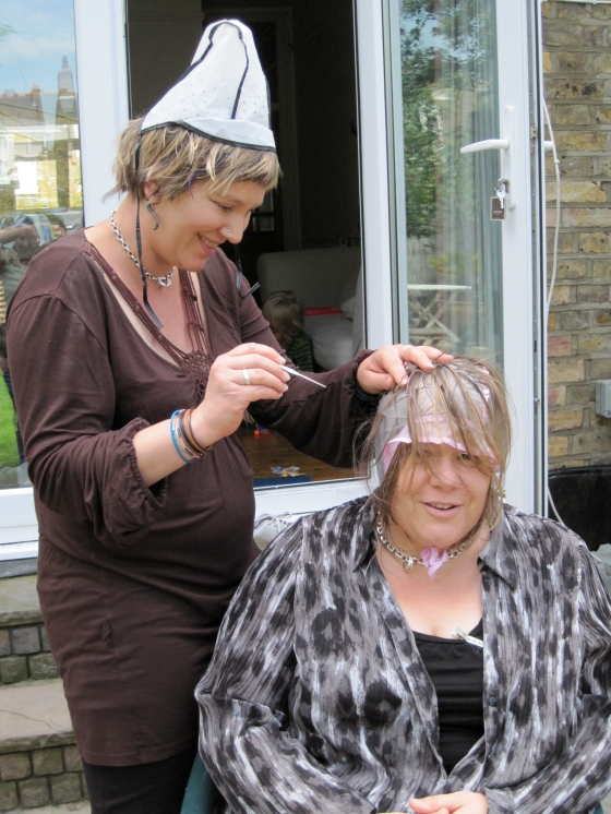 Wedding preparations (sorry ladies, just had to be done!)