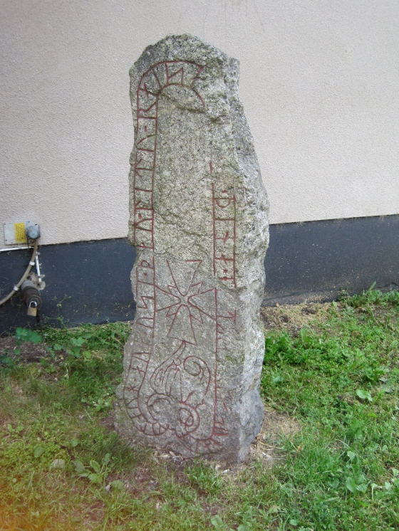 Rune stone (yes it's a real one!!!)