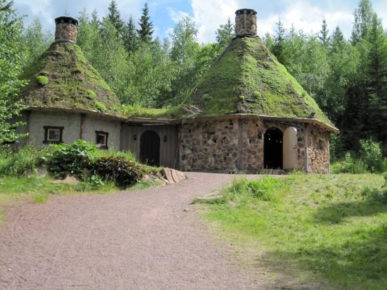 The big trolls houses..