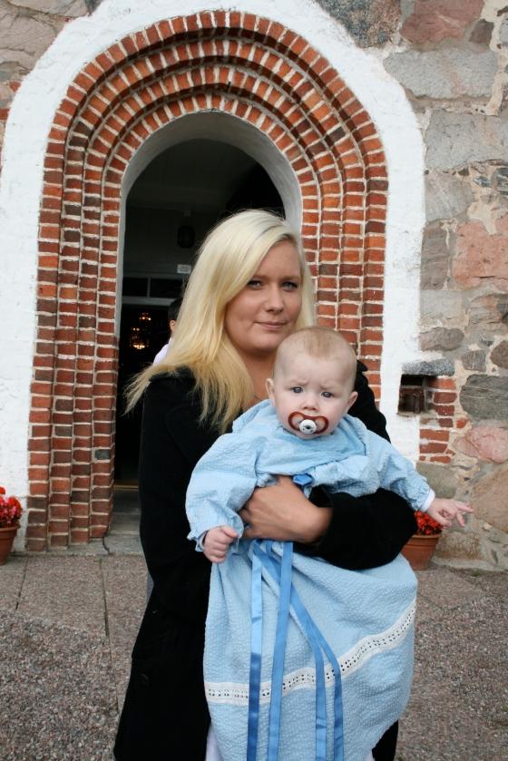 Cousin William's christening