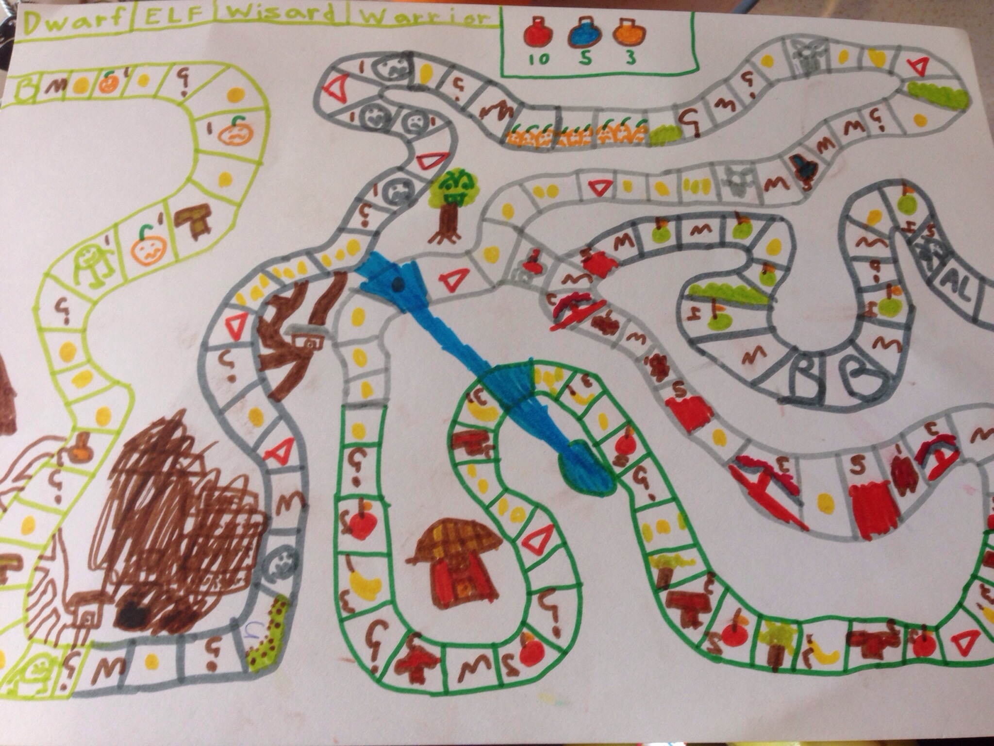 Homemade Board Game Lord Of The Rings Squashed Tomatoes